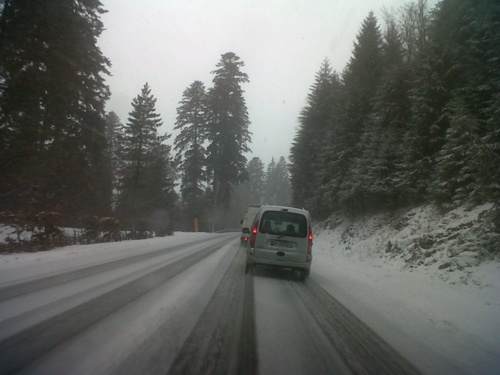 climat vosges : difficultés de circulation dans les cols