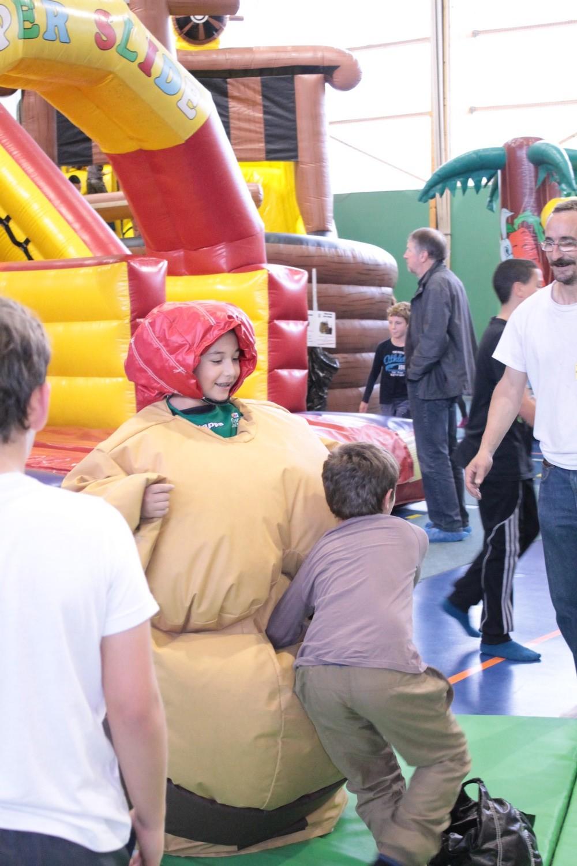 Animation enfants dans les Vosges avec Ludik Air Park structures gonflables géantes