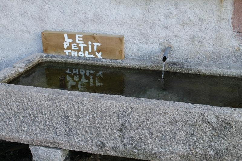 Petite fontaine insolite