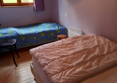 Chambre 2 personnes + 1 enfant